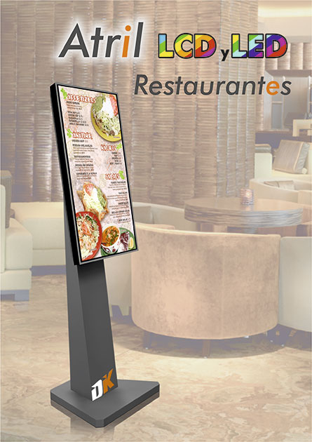 Screen Atril Restaurant