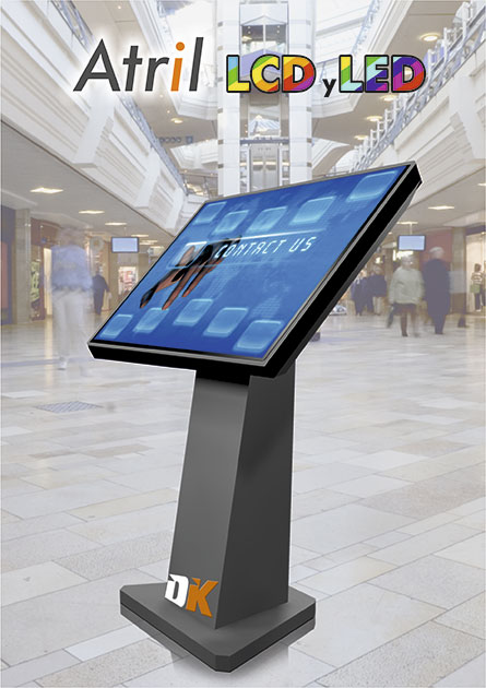 Screen Atril Tactile LCD y LED